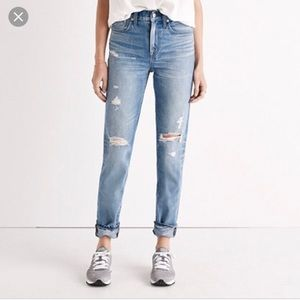 Madewell Perfect Vintage Jeans in Chet Wash